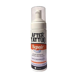 FITOBIOS AFTER TATTOO REPAIR Mousse lenitiva ed emolliente specifica per cute sottoposta a tatuaggio