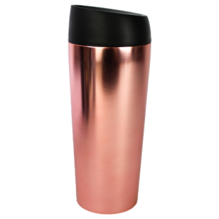 Travel Mug termica in acciaio Oro Rosa Stainless steel bottles