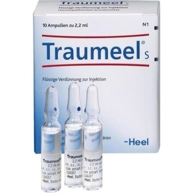 TRAUMEEL S 10 Fiale 2,2ML