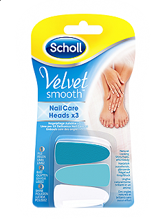 SCHOLL - VELVET SMOOTH LIME PER KIT ELETTRONICO NAIL CARE