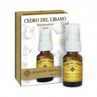 DR GIORGINI CEDRO DEL LIBANO Quintessenza 15 ml spray secrezioni bronchiali