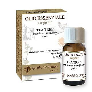 DR.GIORGINI Tea Tree O.E.V. 10 ml Melaleuca alternifolia foglie