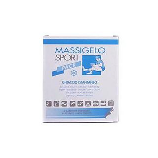 MASSIGEN - MASSIGELO SPORT PACK 2 bs Ghiaccio istantaneo in sacchetti monodose, 2 buste