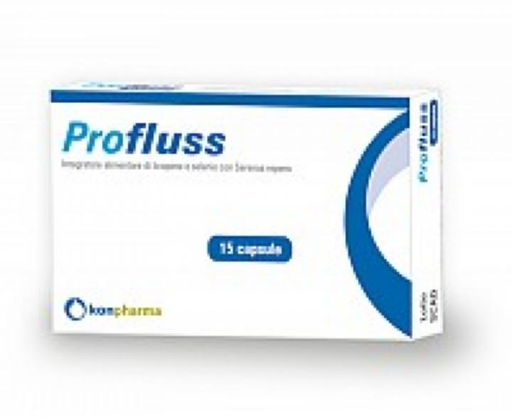 PROFLUSS 15 COMPRESSE