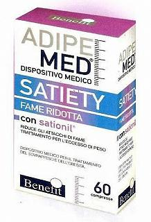 BENEFIT ADIPE MED SATIETY 60 COMPRESSE