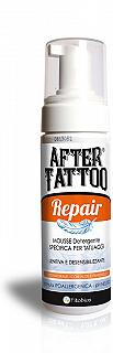 AFTER TATOO REPAIR 100 ml Mousse detergente specifica per TATOO - Lenitiva e desensibilizzante