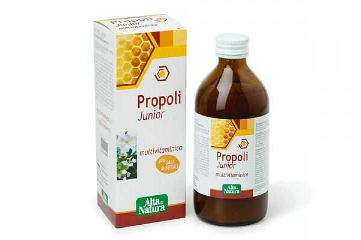 ALTA NATURA Propoli Sciroppo Junior MULTIVITAMINICO 200 ml