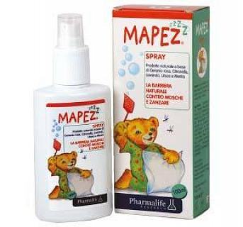 PHARMALIFE MAPEZ SPRAY ANTI MOSCHE E ZANZARE PER BAMBINI 100ml