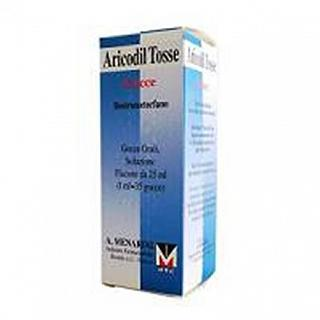 ARICODIL TOSSE GOCCE DESTROMETORFANO 25 ML
