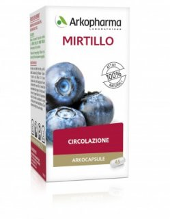 ARKOPHARMA MIRTILLO 45CPS -Lotto Scad. 31/03/21 Integratore a base di mirtillo