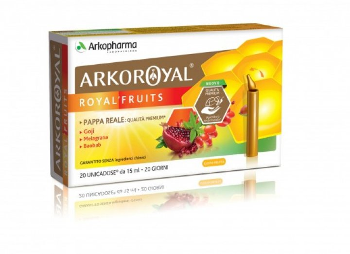 ARKOROYAL ROYAL FRUITS 20 Flaconcini PROMO