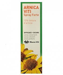 ARNICA VITI SPRAY FORTE 125 ml Prodotto efficace in caso di piccoli traumi e contusioni, 125 ml