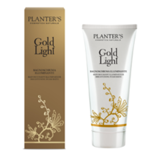PLANTER'S BAGNOSCHIUMA GOLD LIGHT