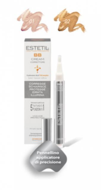 ESTETIL BB CREAM CORRETTORE 5 IN 1 TONALITA' 01