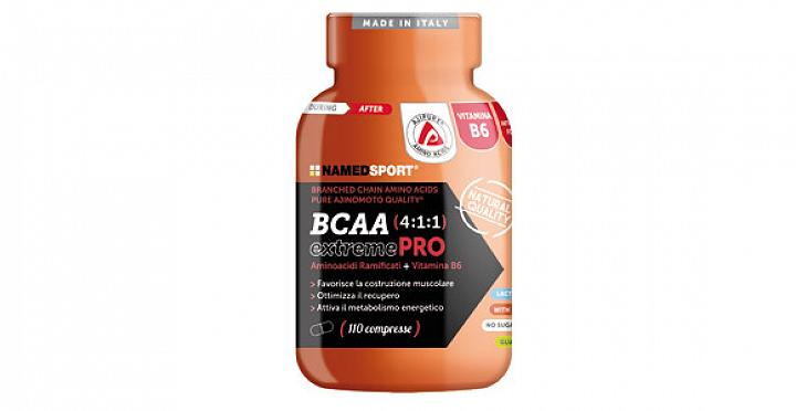 BCAA 4:1:1 EXTREME PRO 110 / 210 / 310 compresse NAMED SPORT