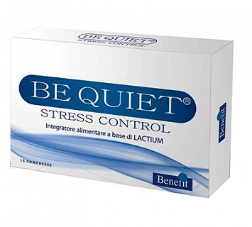 BENEFIT BE QUIET STRESS CONTROL 15 COMPRESSE
