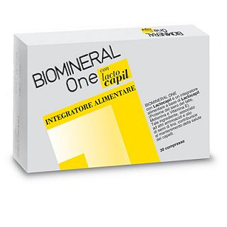 BIOMINERAL ONE LACTOCAPIL 30 COMPRESSE