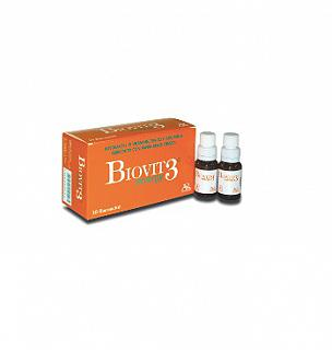 BIOVIT 3 ENERGY 10 Flaconcini 10ML