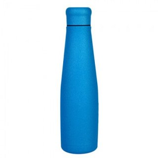 Borraccia termica in acciaio Blue glitter Stainless steel bottles