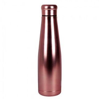 Borraccia termica in acciaio Oro Rosa/Rose Gold Stainless steel bottles