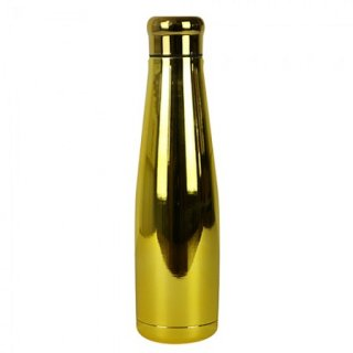 Borraccia termica in acciaio Oro Cromato/Gold Stainless steel bottles