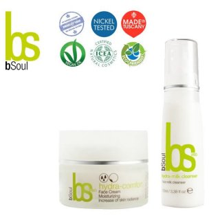 BSOUL Kit Base: Hydra Milk Cleanser + Hydra Comfort Consegna Gratis