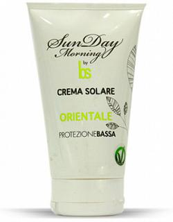 "BSOUL Sun Day Morning CREMA SOLARE BSOUL SUNDAY MORNING ""ORIENTALE"" PROTEZIONE BASSA 150 ML"