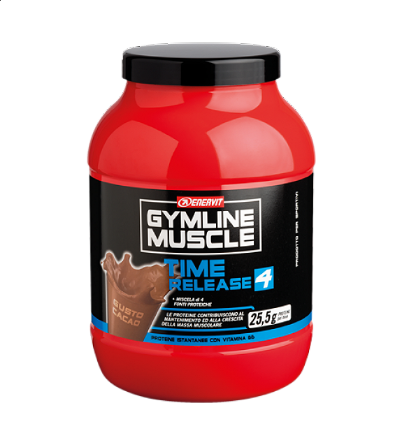 ENERVIT GYMLINE MUSCLE TIME RELEASE 4 CACAO