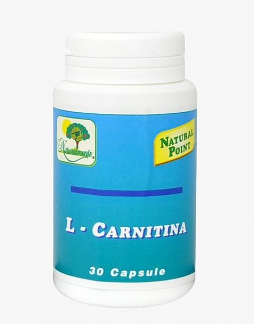 NATURAL POINT L-CARNITINA 30 CAPSULE