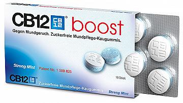 CB12 BOOST 10 CHEWING GUM - NOVITA'