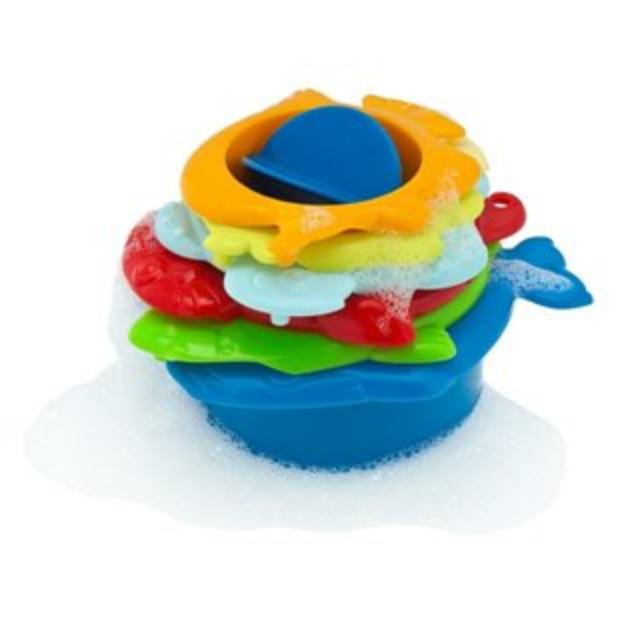 CHICCO BATH TOYS 2IN1 ANIMALETTI DEL MARE