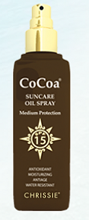 CHRISSIE COCOA SUNCAREOIL SPRAY SPF15 150ML