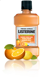 LISTERINE FRESH CITRUS ml 250 ALITO FRESCO