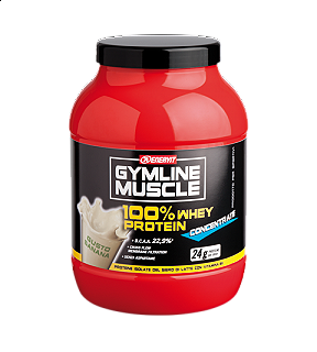 ENERVIT GYMLINE MUSCLE 100% WHEY PROTEIN CONCENTRATE BANANA 700g