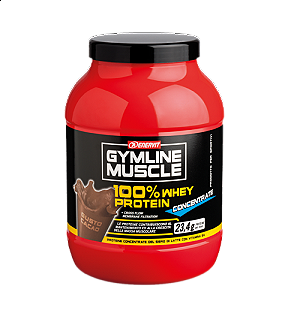ENERVIT GYMLINE MUSCLE 100% WHEY PROTEIN CONCENTRATE CACAO 700g