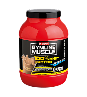 ENERVIT GYMLINE MUSCLE 100% WHEY PROTEIN CONCENTRATE CAPUCCINO 700g