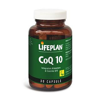 LIFEPLAN - COQ10 Gluten free, 100% naturale, vegan friendly, senza lattosio