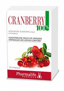 PHARMALIFE CRANBERRY 100% 60 COMPRESSE