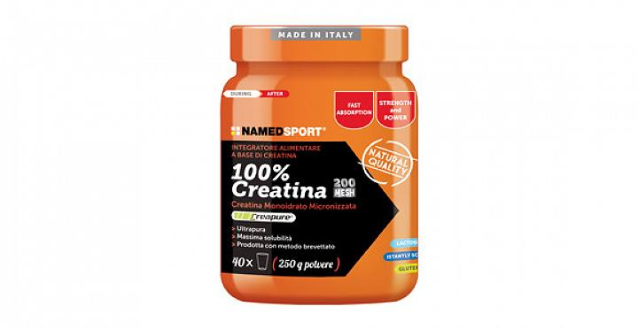 100% CREATINA 250 g NAMED SPORT