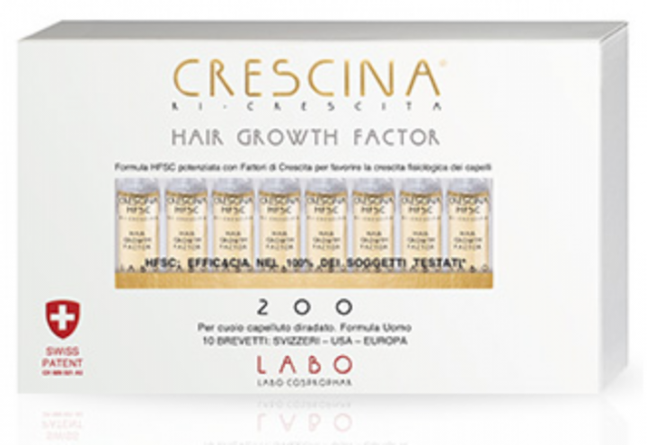 CRESCINA HAIR GROWTH F200 UOMO 20 FIALE