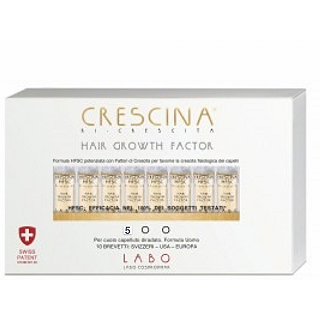 CRESCINA HAIR GROWTH F500 DONNA 20 FIALE