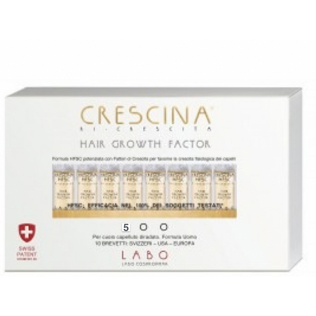 CRESCINA HAIR GROWTH F500 UOMO 20 FIALE