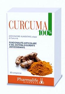 PHARMALIFE CURCUMA 100% 30 COMPRESSE