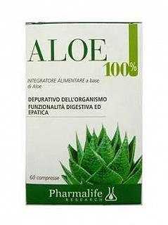 Pharmalife Aloe 100% 60 Compresse