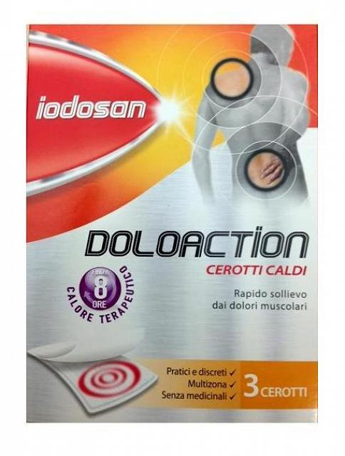 IODOSAN DOLOACTION CEROTTO 3PZ