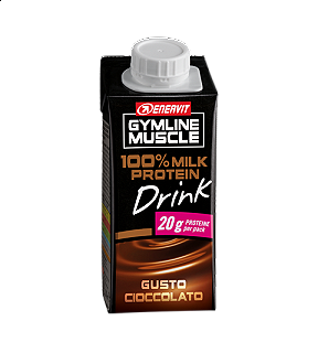 ENERVIT GYMLINE MUSCLE 100% MILK PROTEIN DRINK CIOCCOLATO 200 ml