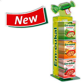 EM-EUKAL GUMDROPS - 40gr. Caramelle gommose in vari gusti made in Germany, 40gr.