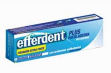 EFFERDENT PLUS PASTA ADESIVA 40 ML