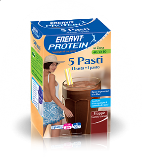 ENERVIT PROTEIN FRAPPE' CACAO 5 BUSTE
