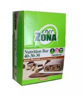 ENERZONA NUTRITION BAR 40-30-30 NOCCIOLA BOX DA 20 BARRETTE